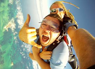 8,000 Feet Tandem Skydive