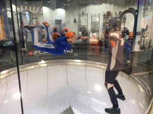 brett indoor skydiving